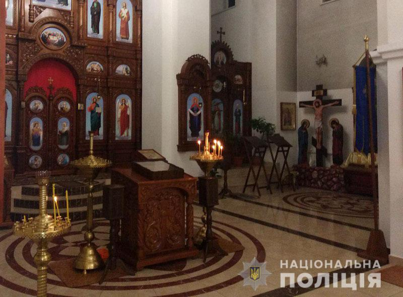 На Украине мужчина украл мощи святого из церкви