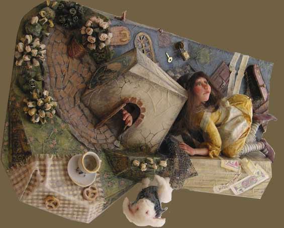 Картины из папье-маше своими руками мастер класс