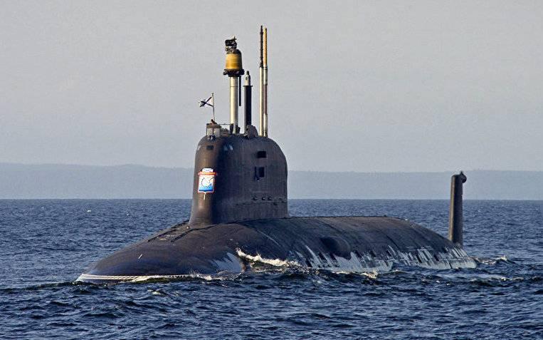 Атомная подводная лодка проекта 885 «Ульяновск». Инфографика