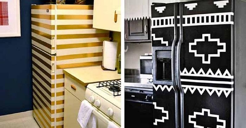 Сделал современный ремонт, а старый холодильник как бельмо на глазу?