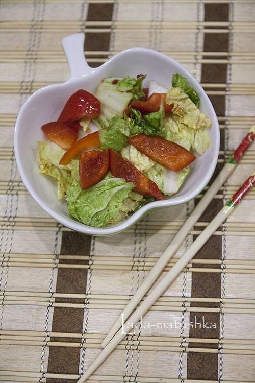 Острая китайская капуста
