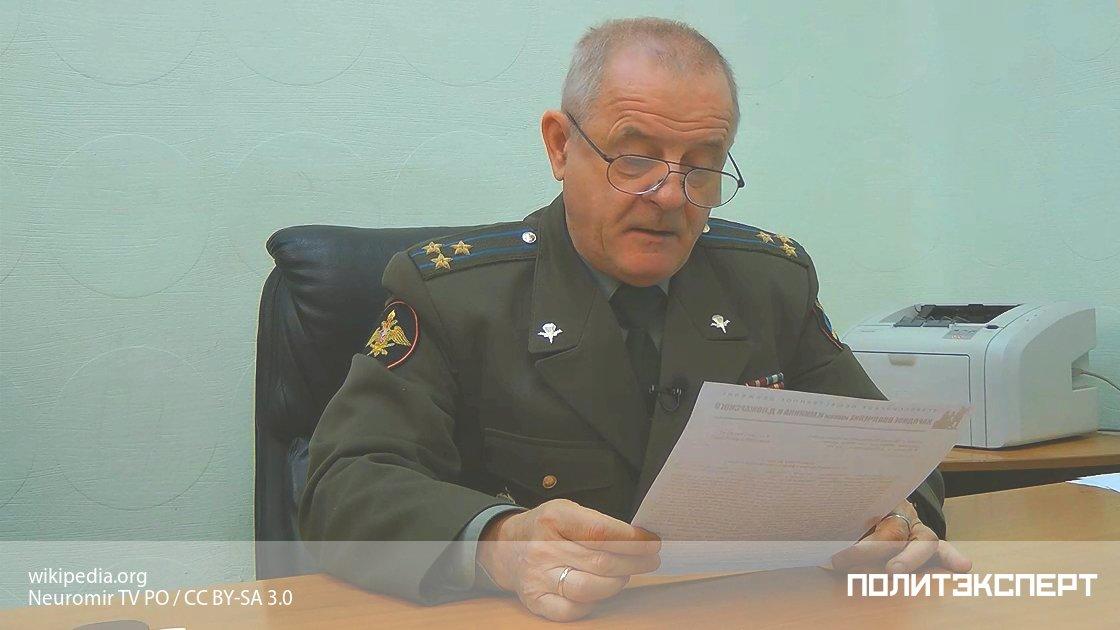 Полковник-экстремист Квачков снова на свободе