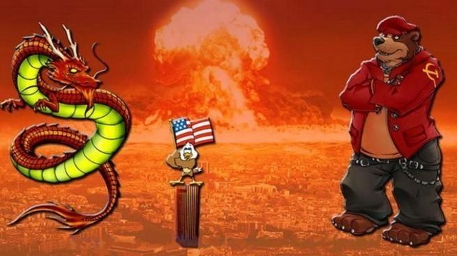 Янки в тягостных раздумьях: как убедить Россию, что военная мощь Китая опасна?