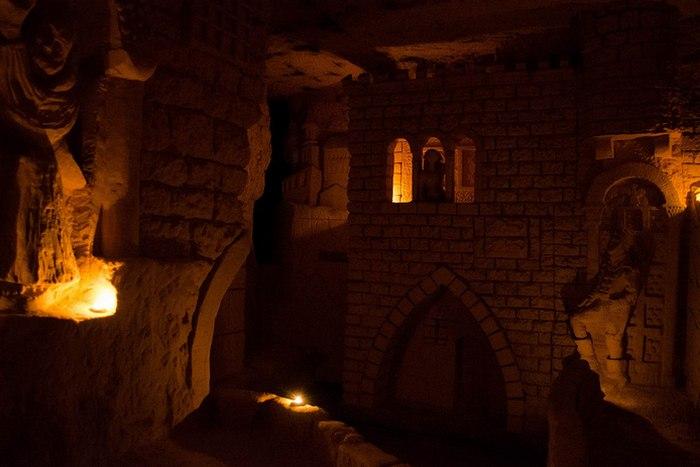 Пещеры Маастрихта: подземные улицы.