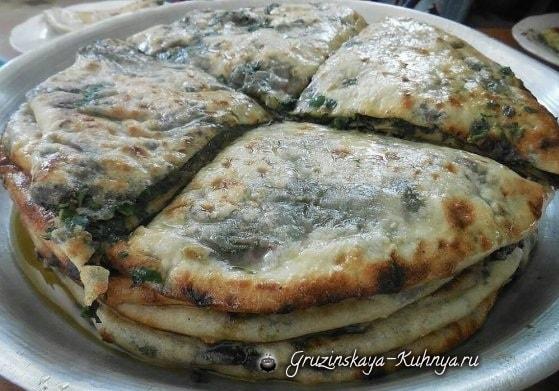 Хабизгина — пошаговый рецепт осетинских хачапури