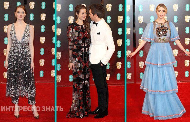 BAFTA 2017: самые элегантные гости церемонии вручения кинонаград