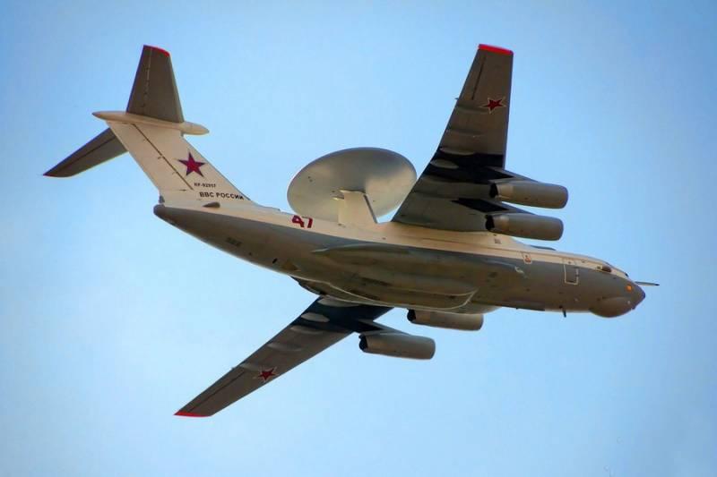 «Всевидящий» А-50У в действии: военные впервые показали летающую РЛС
