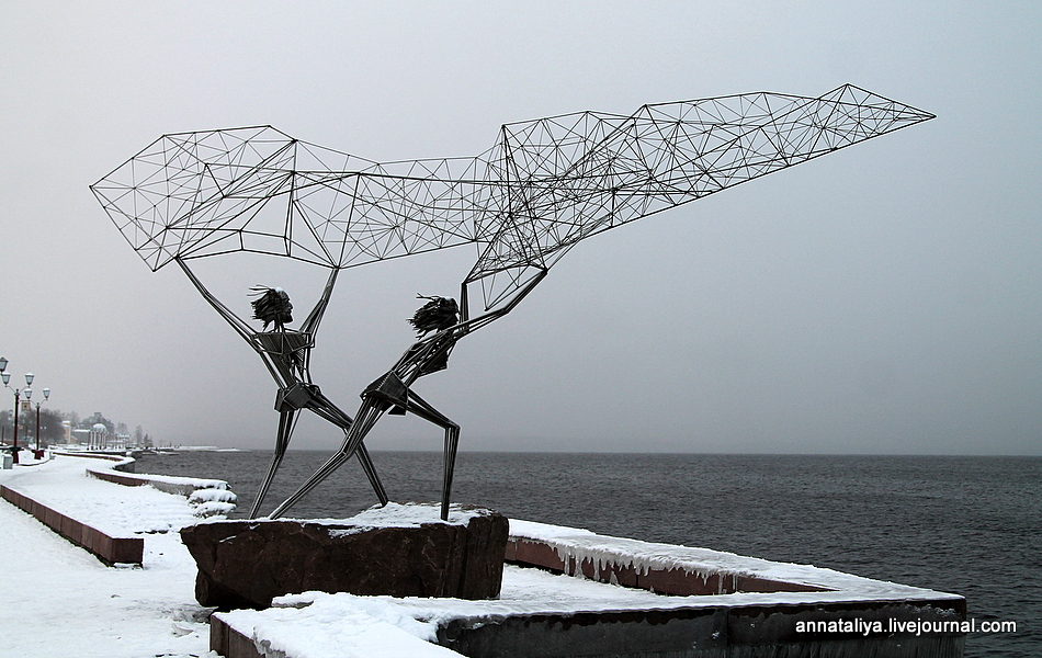 Зимняя прогулка по Петрозаводску