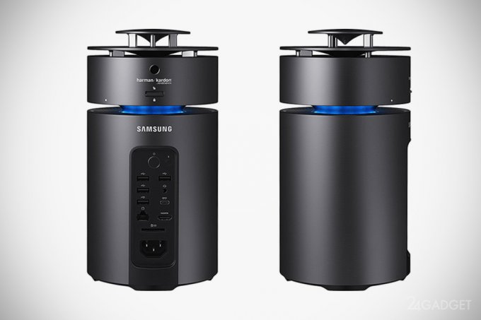 Samsung ArtPC Pulse - десткоп в цилиндрическом корпусе