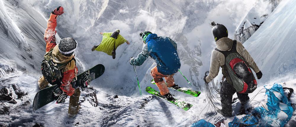 Обзор Steep — отличная игра про спорт в Альпах с кучей оговорок