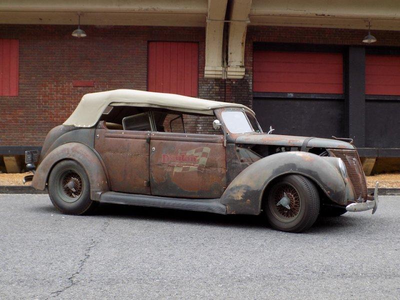 Рэт-род для выставки SEMA на базе Ford Phaeton 1937