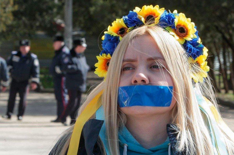 """Конец """"свободе слова"""" на Украине..."""