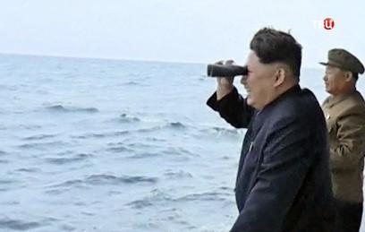Лидер КНДР рассказал об успешном испытании нового ракетного двигателя