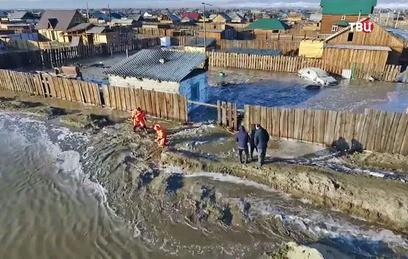 Российские регионы затопило