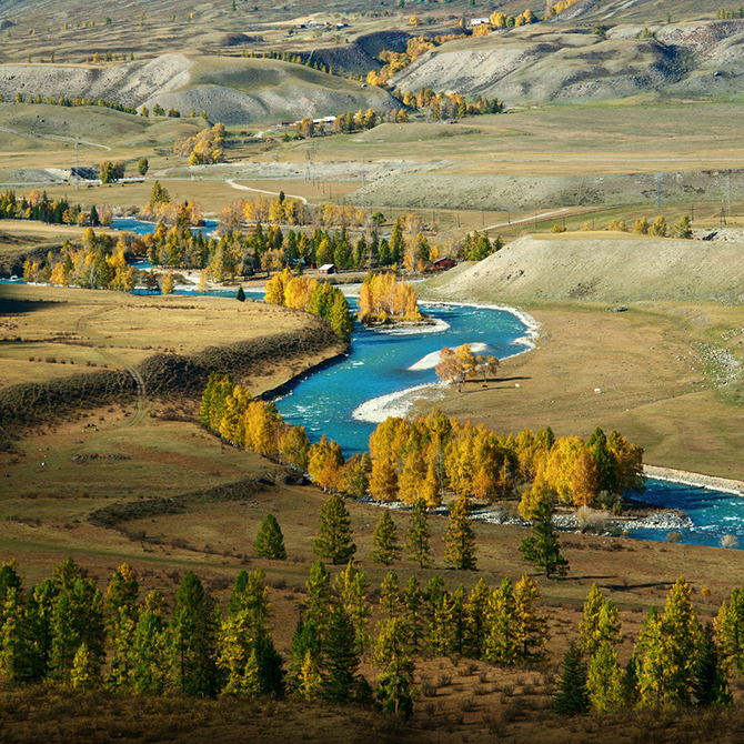 Волшебные пейзажи Алтая