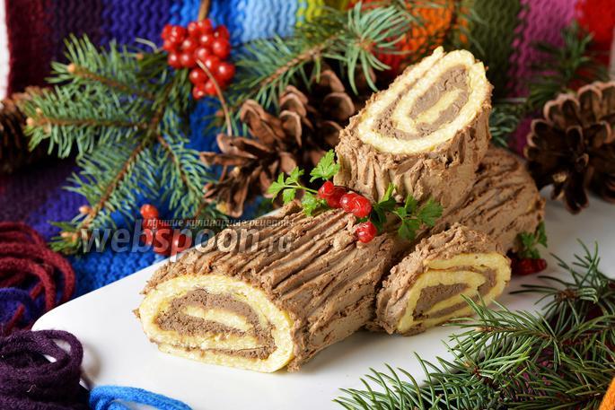 Рождественское «Полено» закусочное