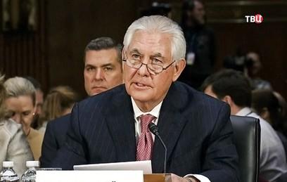 Тиллерсон назначен куратором по антироссийским санкциям