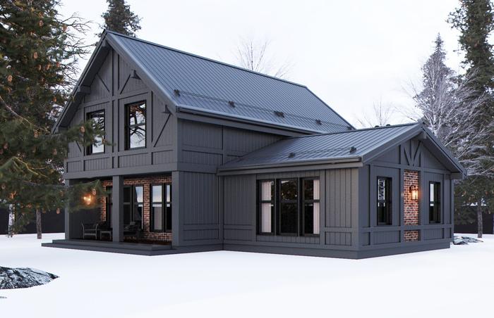 Как мы строили странный дом aeroslon, home in the woods, наш MINI, ПафосНашеВсе, russiandidit, дом для ПМЖ, проекты домов, дом по цене однушки, длиннопост