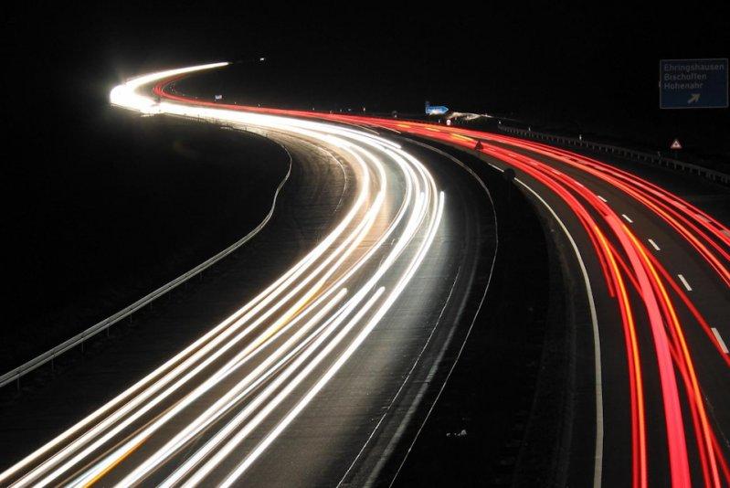 Немецкий автобан - Почему предельная скорость не опасна? автобан, германия, дороги