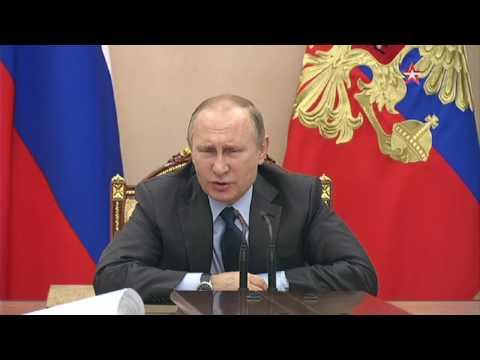 Улюкаев перед Путиным