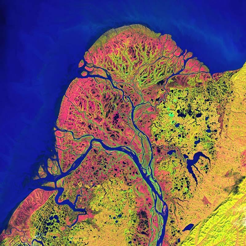 Landsatprogramme 1 Фото со спутника   Земля как произведение искусства