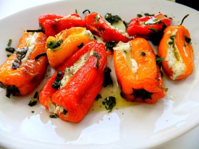 Невероятно вкусный фаршированный перец.  Фото: vegecrimea.ru.