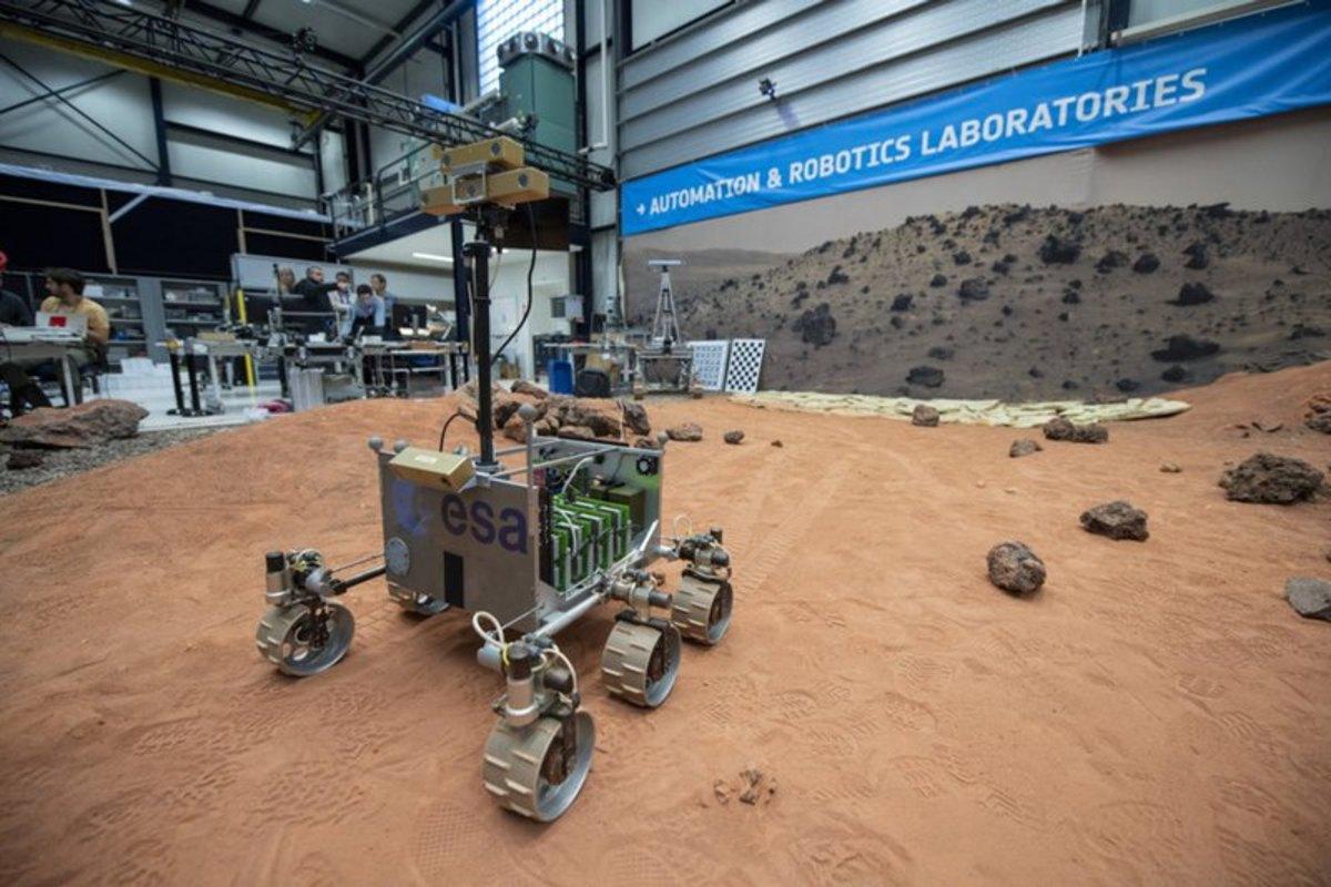 Прошли испытания нового марсохода для миссии «ЭкзоМарс-2020»