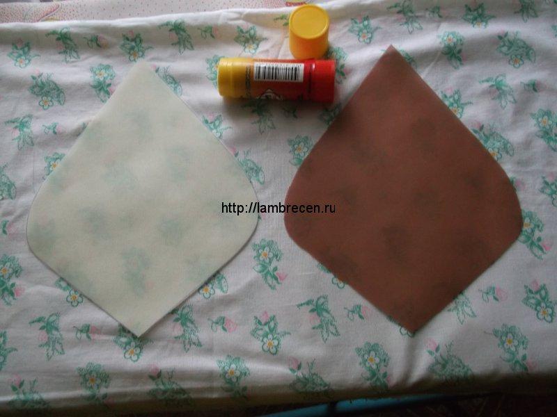 цветы  из ткани для штор своими руками