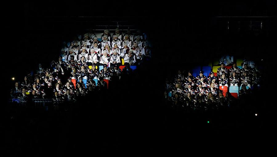 """ФОТООТЧЕТ: НЕВЕРОЯТНО КРАСИВАЯ ЦЕРЕМОНИЯ ОТКРЫТИЯ ЗИМНЕЙ ОЛИМПИАДЫ """"СОЧИ 2014"""""""