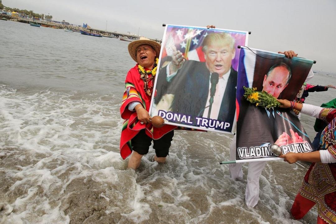 Перуанские шаманы предсказали, что ждёт Путина и Трампа в 2017 году