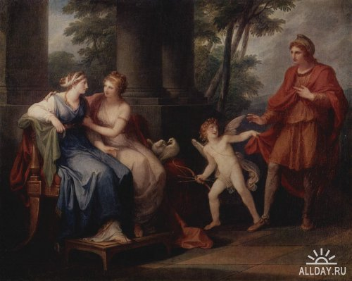 Суд Париса в классике мировой живописи