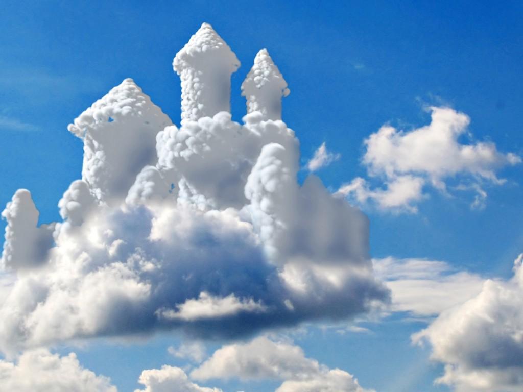 Человек, строящий воздушные замки