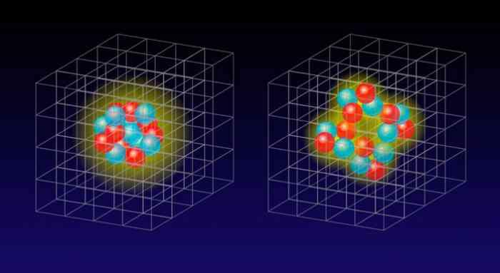 Ядерная материя близка к точке квантового фазового перехода