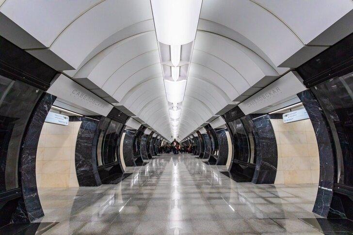В Москве открыли станцию метро «Савёловская» Хорошие, добрые, новости, россия, фоторепортаж