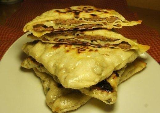 Китайские лепешки с мясом-безумно вкусные и сочные