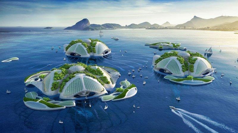 Шесть домов будущего, которые защитят вас от изменений климата будущее, дом, прогноз