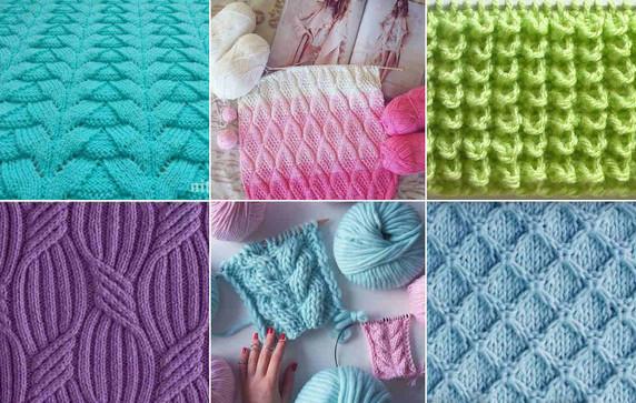 Как читать схемы вязания спи…