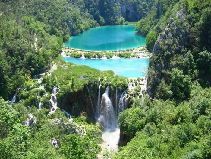 Плитвицкие озера – рай на Земле (10 фото)