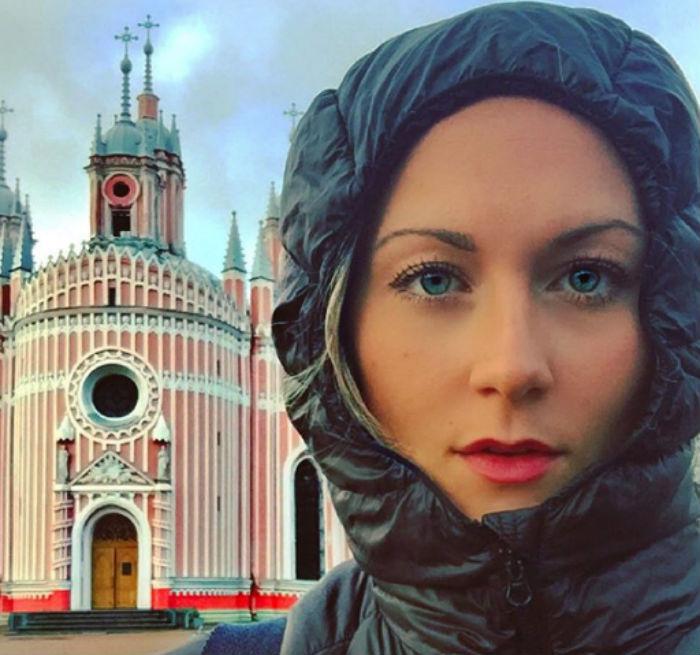 Кэсси де Пекол хочет стать первой женщиной, которая побывает во всех странах мира