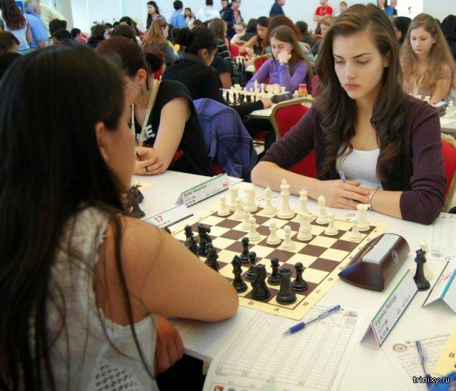 Александра Ботез – самая привлекательная шахматистка в мире