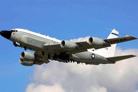 Самолет-разведчик США сунулся в Крым и был условно сбит ПВО