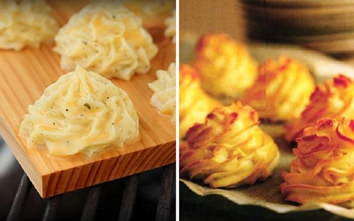 Вкуснейшие «розочки» из обычной картошки, которые выручат хозяйку, если гости уже на пороге