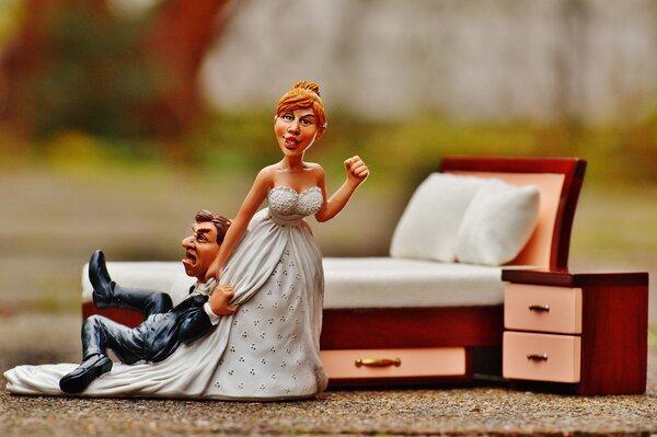 Сказка закончилась сразу после свадьбы.