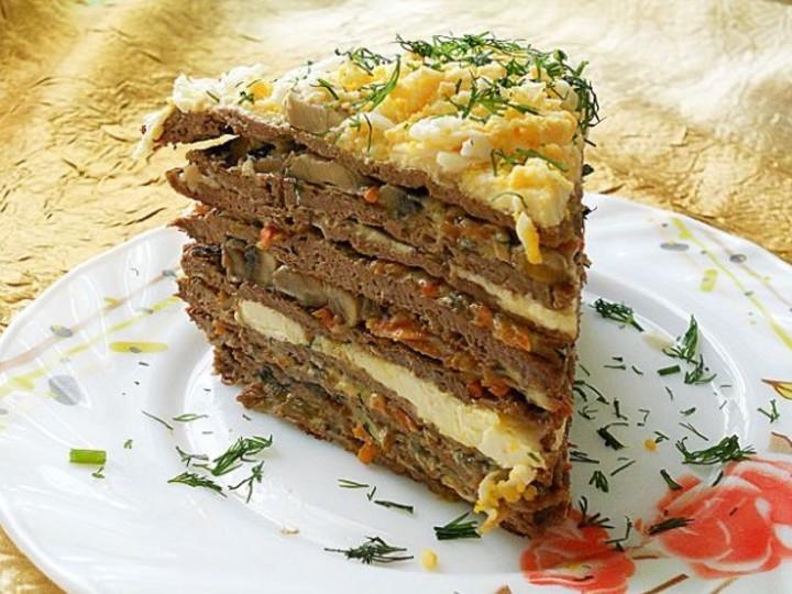 Печеночный торт рецепт фото пошаговый