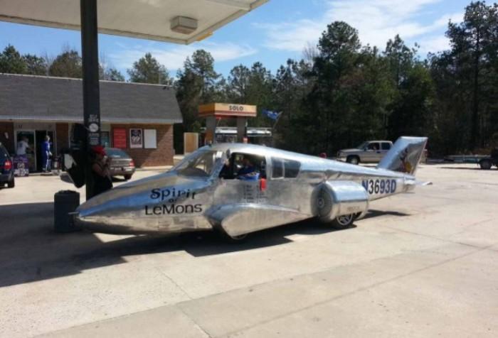 Spirit of LeMons: самолетомобиль от механика-самоучки
