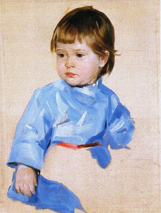Пимоненко Портрет сына художника 1906 Николая». Этюд (528x700, 252Kb)