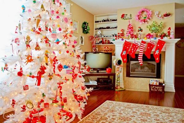 Как можно украсить квартиру своими руками на новый год