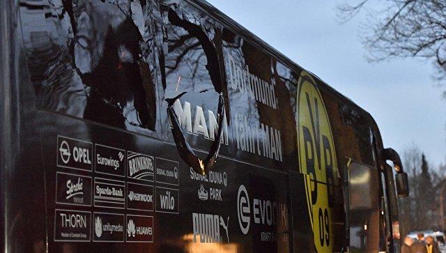 В Германии арестован выходец из РФ, который хотел взорвать автобус с футболистами