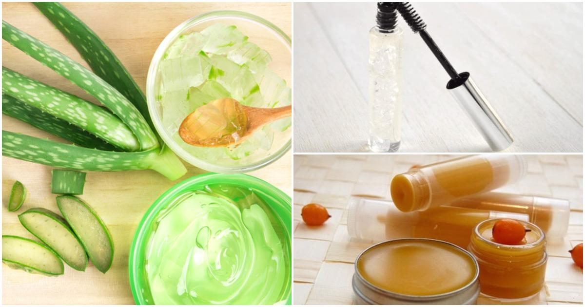 10 рецептов косметических средств, которые можно сделать самостоятельно