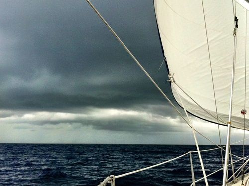 Тропический шторм «Андреа»